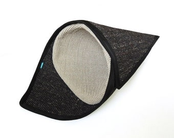 Cat scratcher & bed - TEMAKI / SILVER