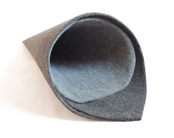 Cat scratcher & bed - TEMAKI / GREY