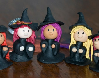 Small Witch hanging Halloween decoration
