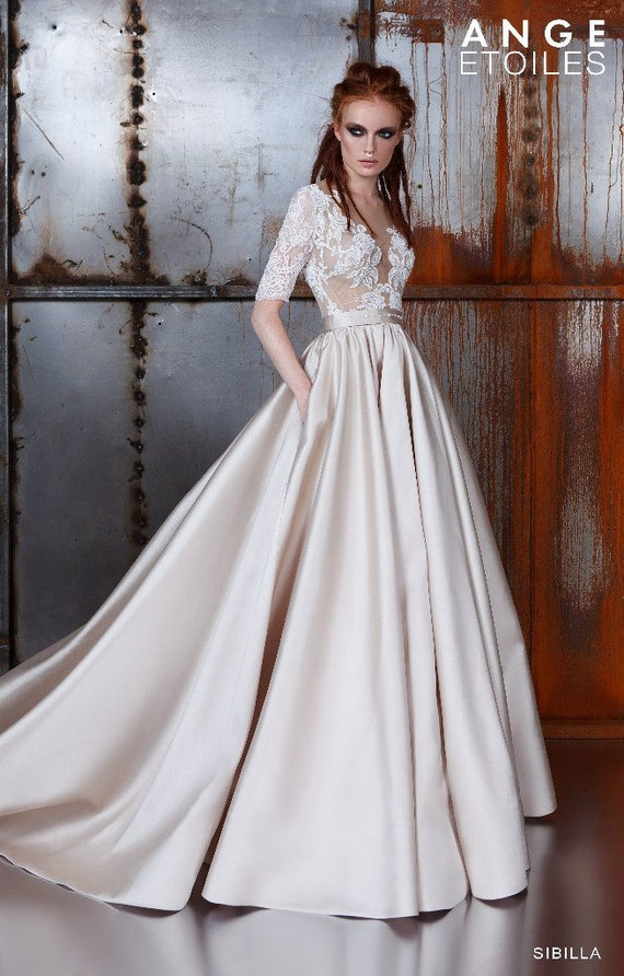 Wedding dresses 3/4 Sleeves