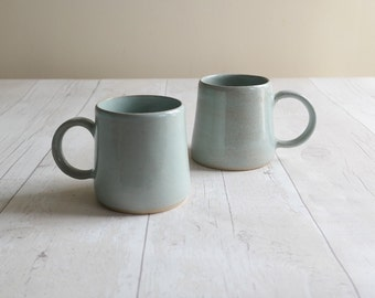 Duck Egg Glazed Ceramic Mug - Ready to Ship