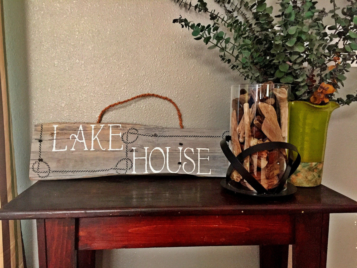 Wall Decor For Lake House : Lake house sign decor wall art