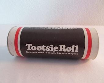 Vintage Tootsie Roll Bank