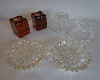 Vintage Candle Holders - 3 Sets