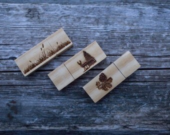 Wooden USB flash ENGRAVING. Engrave your logo to your new usb flash memory.