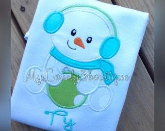 Christmas shirt, Girls Christmas shirt, Boys Christmas shirt, First Christmas shirt, Snowman shirt, Custom christmas shirt, Winter shirt