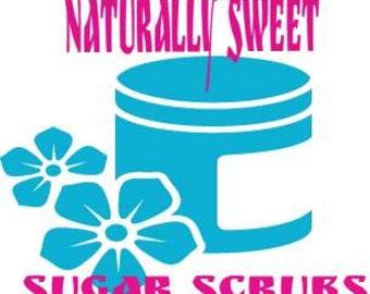 Naturally Sweet Sugar Scrubs
