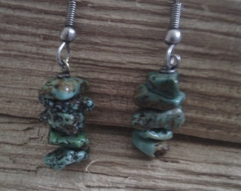 Tourquoise Stone Earrings