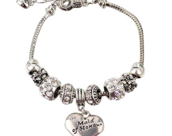 Maid of Honor Gift Jewelry- New Maid of Honor Bracelet- Perfect Gift For Maids of Honor!!!