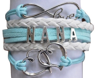 Nana Bracelet- Nana Jewelry - Perfect Nana's Gift, Mother's Day or Just Because!!!