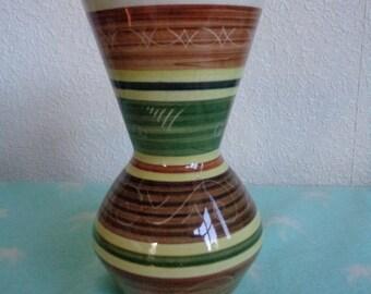 Vintage Dragon Pottery 1960's vase