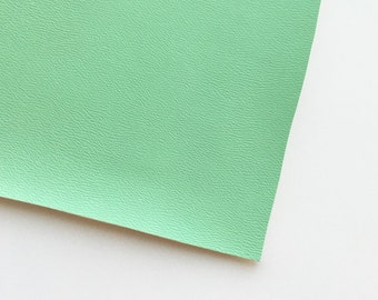 Mint Vegan Faux Leather, Vinyl, Leatherette, Mint Green, Vegan Leather, Hair Bow, Fake Leather, Faux Leather Sheet, Mint Faux Leather