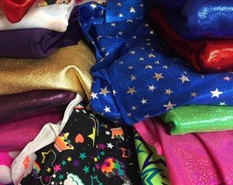 Fabric Strip Grab Bag for DIY Cheer or Softball Bows