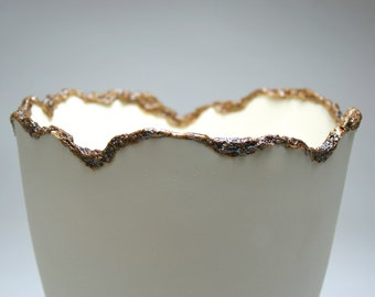 Unglazed Porcelain Vessel