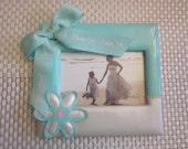 FLOWERGIRL PICTURE FRAME Keepsake Gift