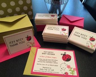 Ladybug Baby Shower Invites!
