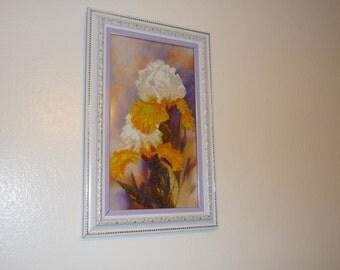 "The ""Iris"" handmade picture"