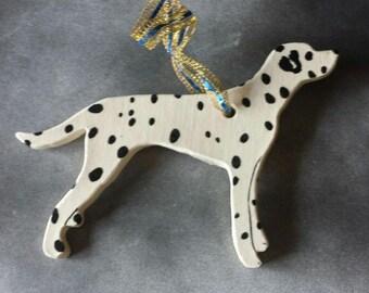 Handcrafted Dalmatian dog breed ornament