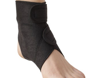 Ankle Support | Dual Magnetic & Tourmaline Technology | Self-Heating | Adjustable Fit