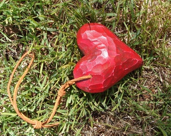 Decorative wooden heart