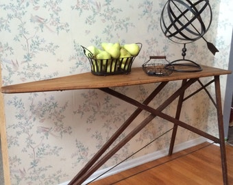 Sofa Table, Industrial Table,Upcycled Furniture,Vintage Furniture,Repurposed Furniture,Furniture