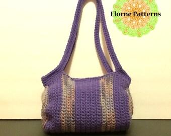 CROCHET PATTERN Crochet Cylinder Purse Pattern