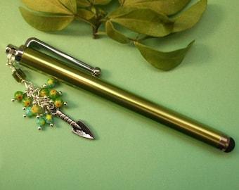 Garden of Eden - Gardening themed charm pen, stylus for iPad, kindle or tablet