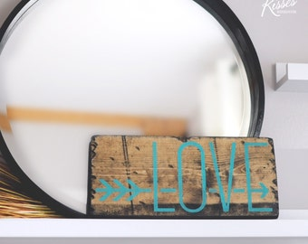Love Arrow Turquoise