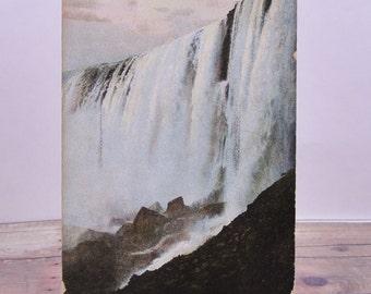 Vintage Postcard-Horseshoe Falls-Vintage Photo New York-New York Postcard-Vintage Paper Epherma