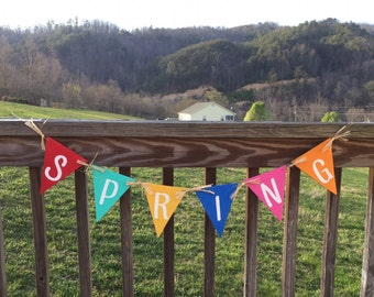 Wood Bunting Sign