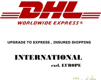 Upgrade DHL express secure shipping international