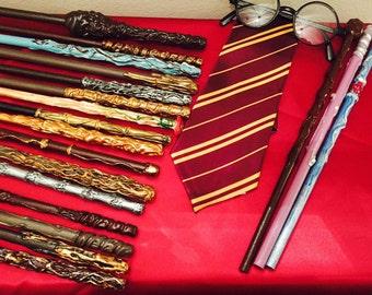 Magic wand, fairy wand, Harry Potter style wand, wizard wand, cosplay, options