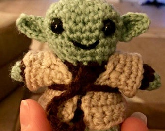 Little crocheted star wars figurines (3 pack)
