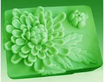 Soap mold / handmade soap mold / silicone molds / candle mold / soap mold / silicone soap mold / Flower