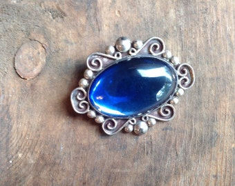 blue oval pin (J5)