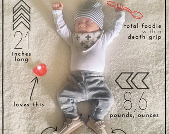 Monthly Baby Photo Update