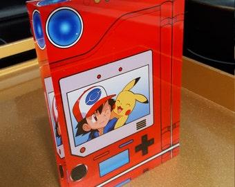 Pokemon Glass Pokedex. PHOTO CUSTOMIZATION AVAILABLE!!!