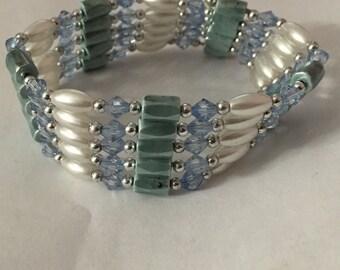 Wrap around magnetic body jewelry