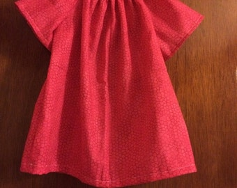 6-12 month pink marble dress