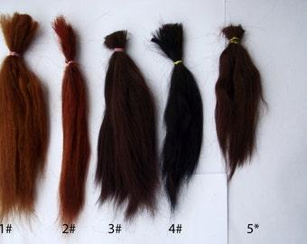 Suri Alpaca fiber washed 4 color