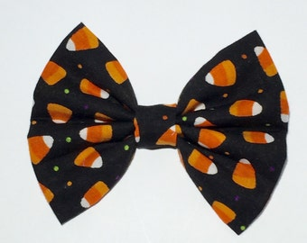 Candy Corn Hair Bow