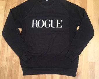 ROGUE Black Sweatshirt