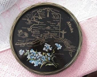 Vintage tray Alaska