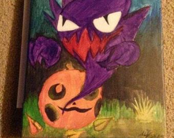 Haunter Pokemon Painting