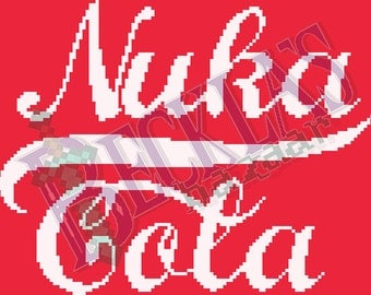 Nuka Cola Cross-Stitch Pattern PDF