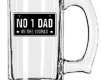 Number 1 Dad Coffee Mug- Dad Coffee Mug- #1 Dad in the World Coffee Cup- Personalized Mug- Dad Gift- Fathers Day gift- Christmas Gift