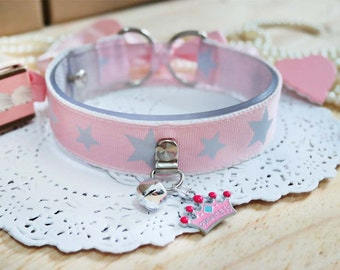 Starry Eyes Kitty - Kitten play collar