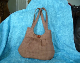Large Purse, Shoulder Bag, Rust Bag, Soft Bag