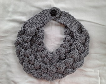 Braided scarf/cowl
