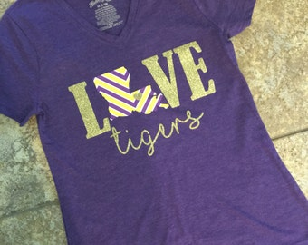 LSU Love Tigers Shirt